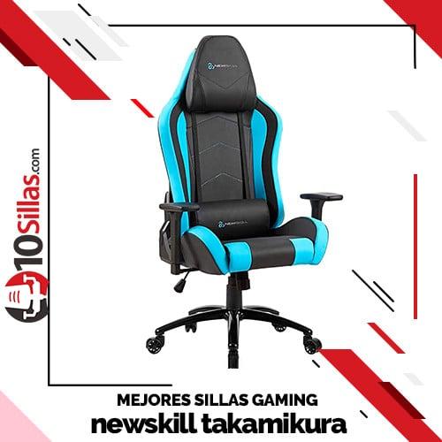 Mejores sillas gaming newskill takamikura