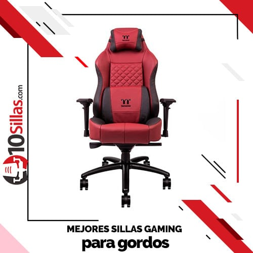 Mejores sillas gaming para gordos