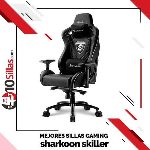 Mejores sillas gaming sharkoon skiller