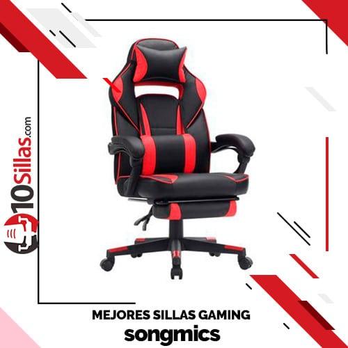 Mejores sillas gaming songmics