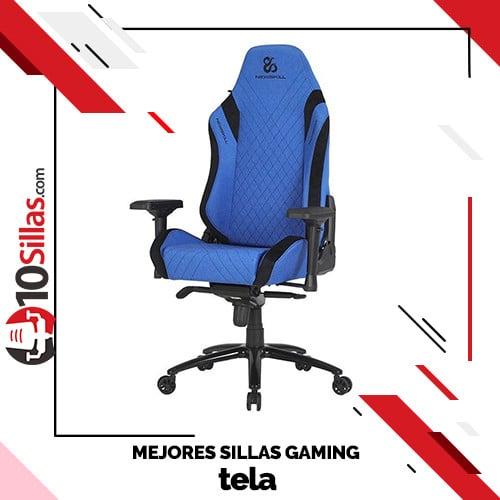 Mejores sillas gaming tela