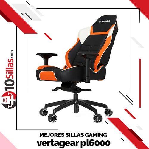 Mejores sillas gaming vertagear pl6000