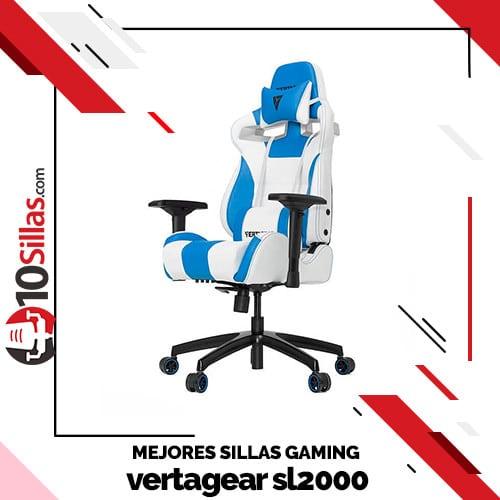 Mejores sillas gaming vertagear sl2000