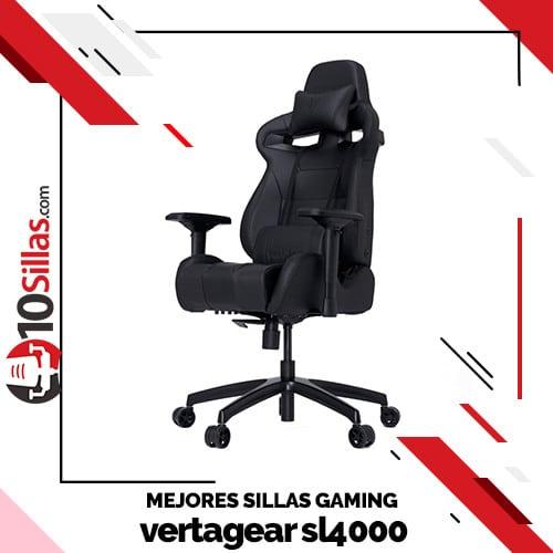 Mejores sillas gaming vertagear sl4000